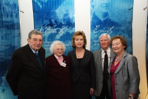 President Mary McAleese and Senior Citizens Parliament